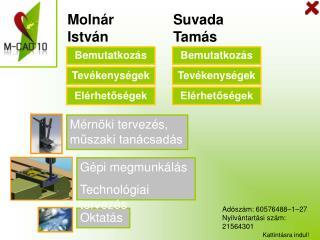 Molnár István Egyéni vállalkozó