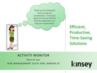Efficient, Productive, Time-Saving Solutions