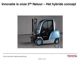 Innovatie is onze 2 de  Natuur – Het hybride concept