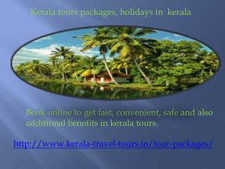 Kerala holidays packages in different locations
