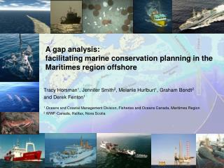 A gap analysis:  facilitating marine conservation planning in the Maritimes region offshore