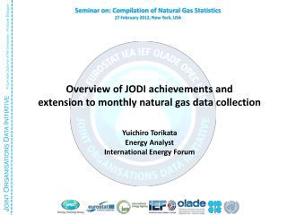 Overview of JODI achievements