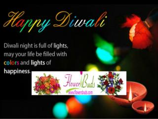 flowersbuds Wishing You a Happy Diwali offers Flowers Delive