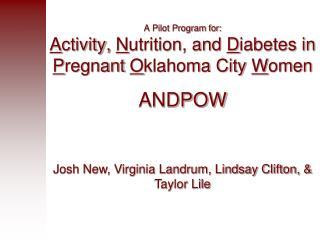Josh New, Virginia Landrum, Lindsay Clifton, & Taylor Lile