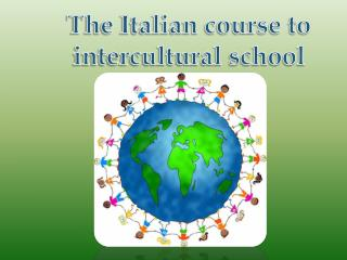 The Italian course to intercultural school