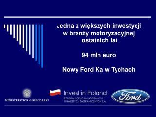 Inwestor: Ford-Werke GmbH, niemiecka filia amerykańskiego koncernu Produkcja: Nowy model Forda Ka