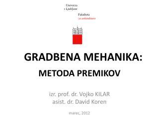 METODA PREMIKOV