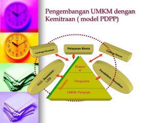 Pengembangan UMKM dengan Kemitraan ( model PDPP)