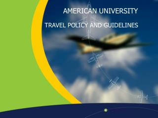 Travel Policy  Guidelines