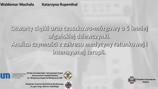 Waldemar  Machała Katarzyna Rupenthal