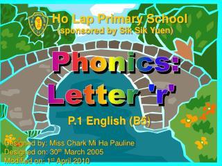 Phonics: Letter 'r'