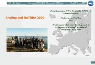 Angling and NATURA 2000