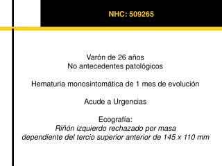 NHC: 509265