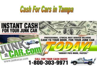 Cars For Cash Tampa