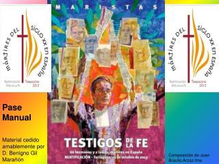 Material cedido amablemente por D. Benigno Gil Marañón