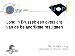 Jong in Brussel: een overzicht van de belangrijkste resultaten