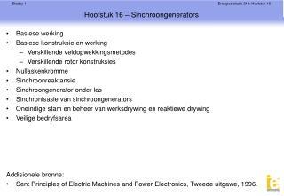 Hoofstuk 16 – Sinchroongenerators