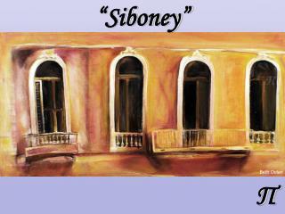 """Siboney"""