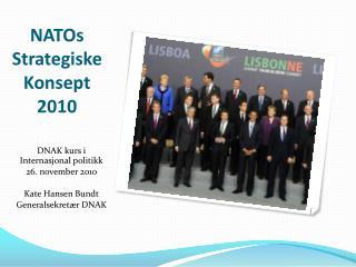 NATOs Strategiske Konsept 2010