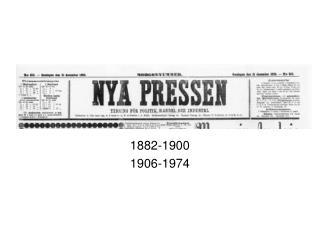 1882-1900 1906-1974