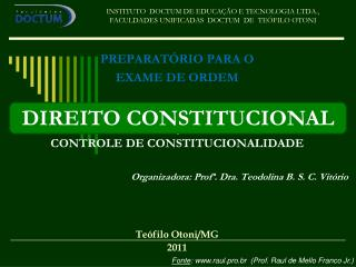 INSTITUTO  DOCTUM DE EDUCAÇÃO E TECNOLOGIA LTDA., FACULDADES UNIFICADAS  DOCTUM  DE  TEÓFILO OTONI