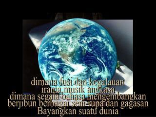 Bayangkan suatu dunia