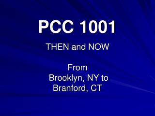 PCC 1001