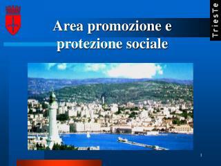 Area promozione e protezione sociale