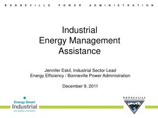 Industrial  Energy Management  Assistance
