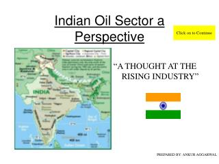 Indian Oil Sector a Perspective