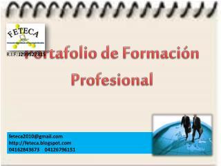Portafolio de Formación Profesional