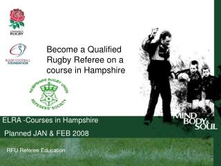 RFU Referee Education