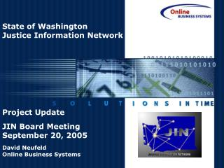 State of Washington Justice Information Network