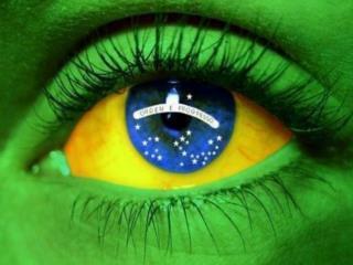 La bandera actual de Brasil se remonta a la bandera del Imperio de Brasil, diseñada en 1822 .