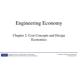 Chapter 2  Cost Concepts and Design Economics