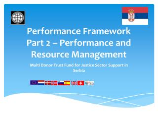 Performance Framework  Part 2 – Performance and Resource Management