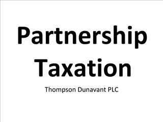 Partnership Taxation