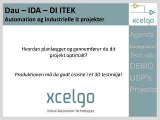 Dau – IDA – DI ITEK Automation og industrielle it projekter