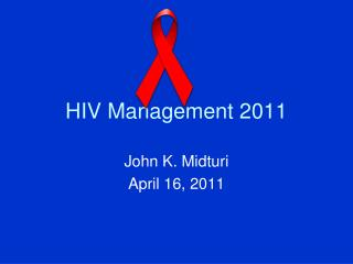 HIV Management 2011