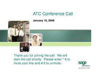 ATC Conference Call