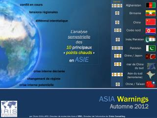 ASIA Warnings