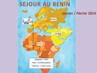 SEJOUR AU BENIN