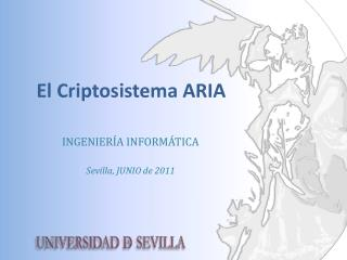 El Criptosistema ARIA