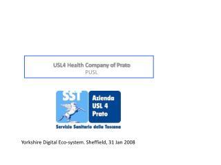 USL4 Health Company of Prato PUSL
