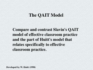 The QAIT Model
