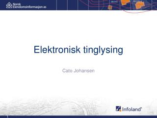 Elektronisk tinglysing