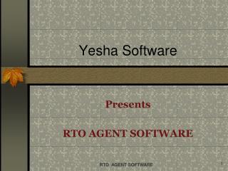 Yesha Software