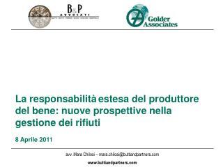 La responsabilità estesa del produttore del bene: nuove prospettive nella gestione dei rifiuti