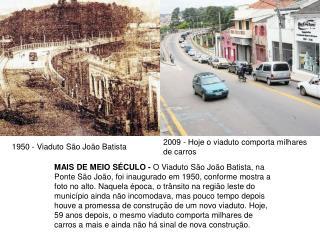 1950 - Viaduto São João Batista
