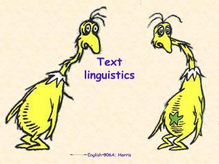 Text  linguistics